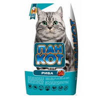 Сухий корм для котів Пан Кот з рибою 10 кг