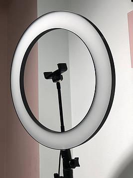 Кольцевая светодиодная LED Лампа 36 см, кольцевой свет, селфи лампа