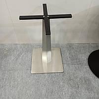 Ножки, базы стола 450*450 мм, вес 20 кг. из нержавеющей стали высота 720 мм