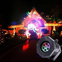 Лазерный проектор DIY с эффектом цветомузыки (11 кассет)