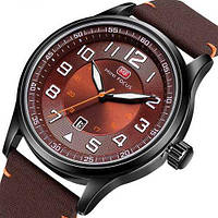 Мужские противоударные наручные часы Mini Focus MF0166G Brown-Black