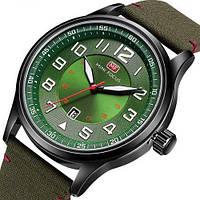 Мужские противоударные наручные часы Mini Focus MF0166G Green-Black