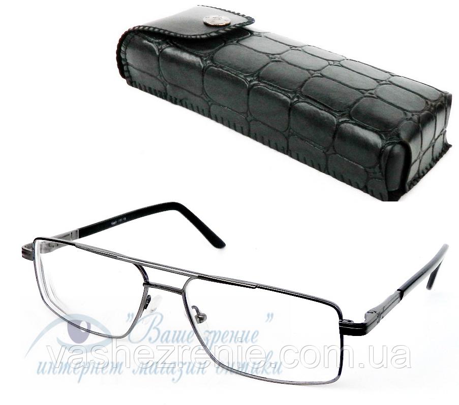 Очки мужские для зрения (+2,25) анти блик Код:2975