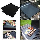 BBQ grill sheet гриль мат портативный антипригарным покрытием 33 * 40 см , фото 4