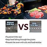 BBQ grill sheet гриль мат портативный антипригарным покрытием 33 * 40 см , фото 6