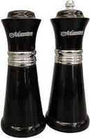 Набор соль/перец MAESTRO MR-1626 черный | набор для специй Маэстро | солонка и перечница Маестро
