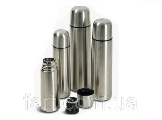 Термос металлический UNIQUE UN-1001, 0,35 л с чехлом