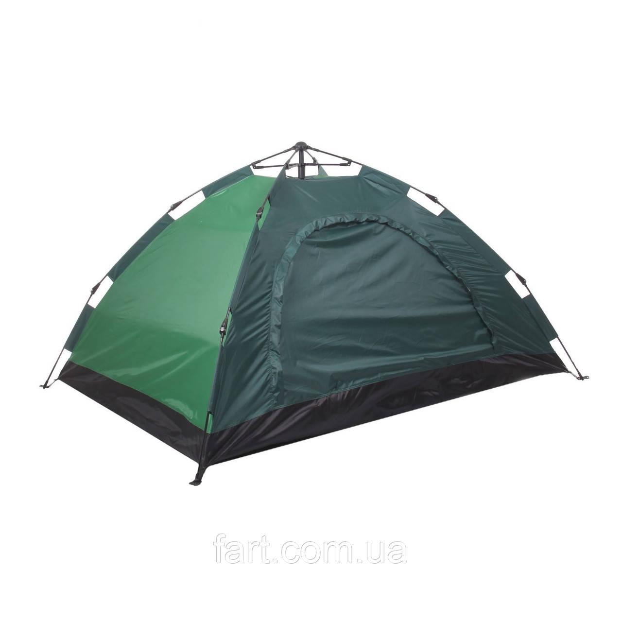 Палатка-автомат 4-х местная ЗЕЛЕНАЯ №5-4