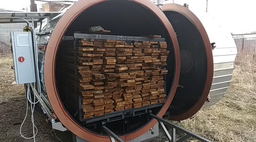 Термокамера для дерева