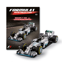 Модель Formula 1 Auto Collection (Centauria) №13 Lewis Hamilton Mercedes F1 W05 - 2014 (1:43)