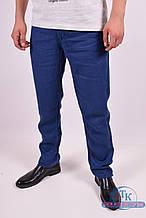 Брюки мужские льняные (цв.т.синий) Billionaire 5354 Размер:31