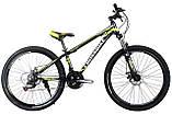 🚲Горный алюминиевый велосипед CROSS LEADER (Disk, моноблок, 21 speed); рама 15; колеса 26, фото 3