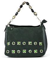 Женская кожаная сумка с камнями art. 118 Турция, фото 1