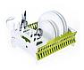 Органайзер для посуды Compact Dish Rack   Складная настольная сушилка для посуды, фото 6