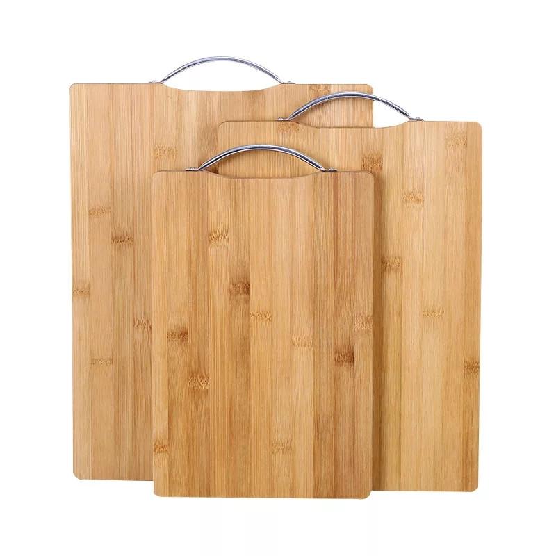 Доска кухонная разделочная бамбуковая 32х45 см