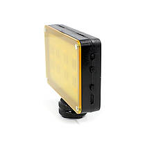 Накамерный свет Ulanzi Cardlite с 12 светодиодами и двумя светофильтрами для смартфонов экшн камер 1/4 дюйма, фото 2
