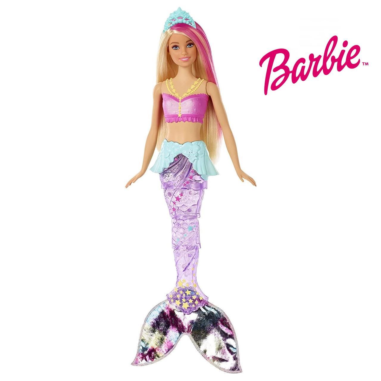 Кукла Барби Мерцающая русалочка Barbie Dreamtopia Sparkle Lights Mermaid Doll