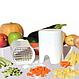 Устройство для нарезания картошки фри и овощей Lot de coupe legumes | Ручной слайсер, фото 5