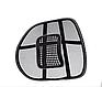 Ортопедична спинка-подушка з масажером на сидіння на крісло   Спинка на сидіння авто, фото 2