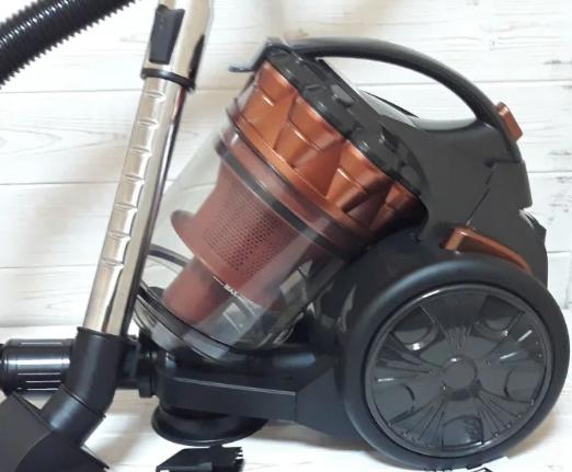 Контейнерный пылесос GRANT GT-1605 3000 Watt без мешка коричневый