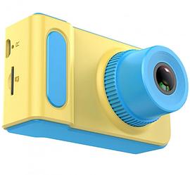Детский цифровой фотоаппарат Smart Kids Camera V7 синий | Детская цифровая камера