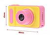 Детский цифровой фотоаппарат Smart Kids Camera V7 розовый   Детская цифровая камера, фото 5