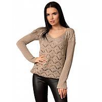 Жіночий ажурний светр, фото 1
