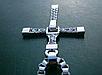 Крестик крест Вин Дизеля Доминика Торетто с цепочкой серебро, фото 4