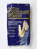 Перчатки латексные для уборки L