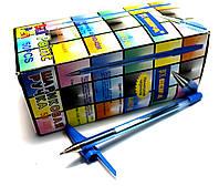 """Ручки шариковые """"Beifa"""" (50шт/уп) синие, фото 1"""