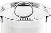 Кастрюля с крышкой из нержавеющей стали Maestro MR-3511-18 (2 л)   набор посуды Маэстро   кастрюли Маестро, фото 5