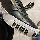 Puma Cali Black and White Sole, фото 9