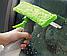 Щетка для мытья окон Easy Glass 3 in 1 Spray Window Cleaner   Щетка-водосгон с распылителем для окон, фото 5