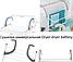 Сушилка Dryer dryer battery   Портативная сушка для белья на батарею, фото 3