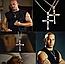 Крестик крест Вин Дизеля Доминика Торетто с цепочкой золото, фото 3
