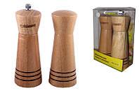 Набор соль/перец MAESTRO MR-1615 дерево | набор для специй Маэстро | солонка и перечница Маестро, фото 1