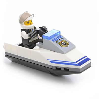 IM473 Конструктор полиция катер