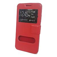 Чехол книжка Samsung A7 Красный