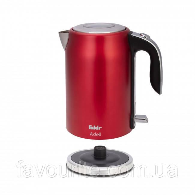 Чайник Fakir Adell, красный - 2200 Вт