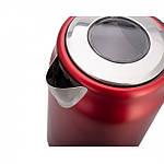 Чайник Fakir Adell, красный - 2200 Вт, фото 3