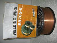 Проволока сварочная ER70S-6, ф1,6мм на 15кг. кассетах