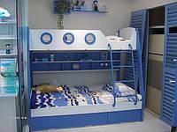Детская двухярусная кровать Романтика