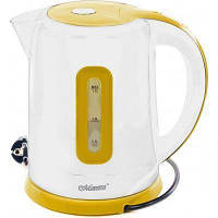 Электрочайник Maestro MR-040 белый с желтым (1.7 л, 2000 Вт) | электрический чайник Маэстро, Маестро
