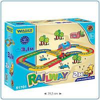 Автомобильная железная дорога детская - 3,1 м. 51701