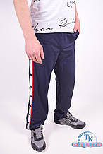Брюки спортивные мужские (цв.т/синий)  из плотного эластика MARATON MWAW1817189PNT007 Размер:46,48,50,52