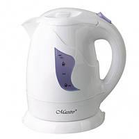 Электрочайник Maestro MR-011 белый с фиолетовым (1 л, 850 Вт) | электрический чайник Маэстро, Маестро