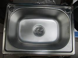 Мойка кухонная врезная из нержавеющей стали Kuchinox mini SKM 010T