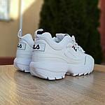 Жіночі кросівки FILA disruptor 2 (біло-сині) 2971, фото 3