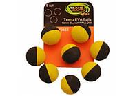 Texno EVA Balls 14mm black/yellow уп/8шт