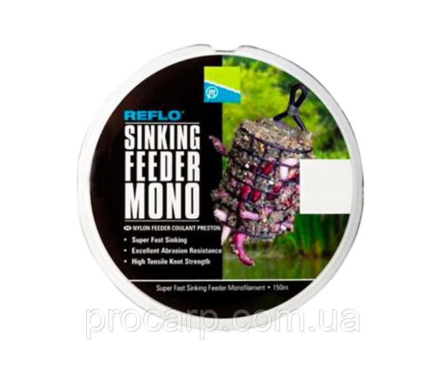 Леска Preston Reflo Sinking Feeder Mono 150 м, 0,26 мм
